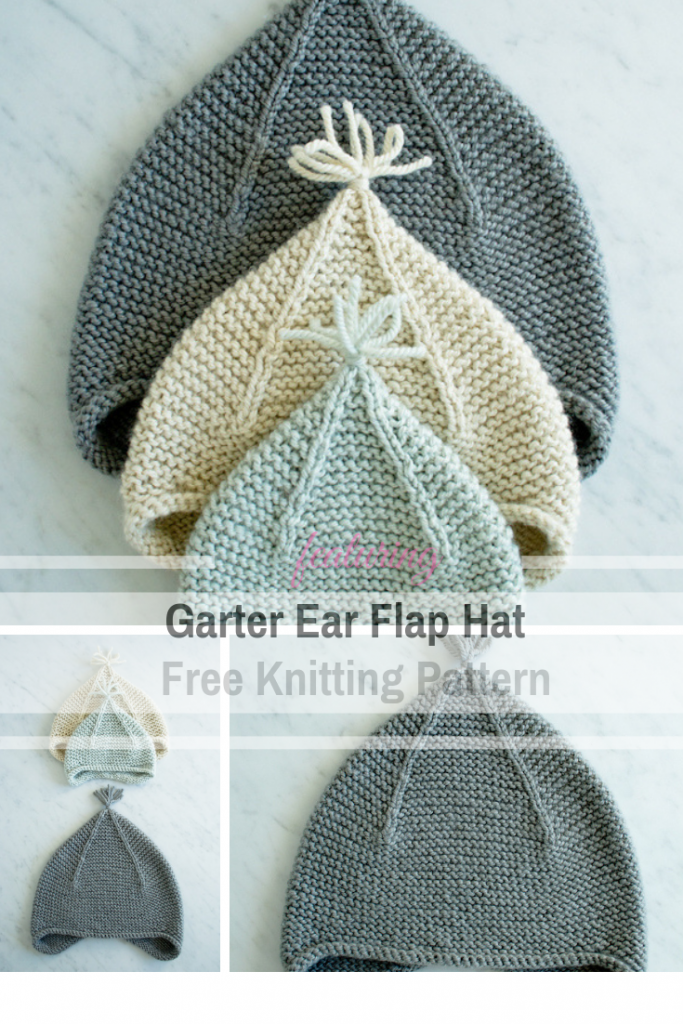 Easy And Free Hat Knitting Pattern With Ear Flaps - All Sizes