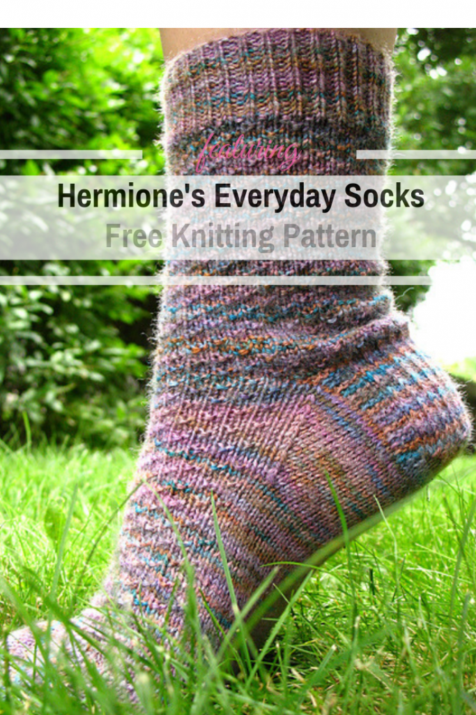 Easy Peasy Sock Pattern To Knit While Traveling Or Watching TV