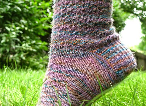 41261dcdb Easy Peasy Sock Pattern To Knit While Traveling Or Watching TV ...